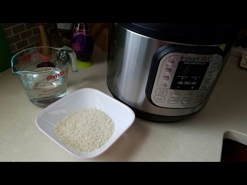 Instant Pot Pressure Cooker White Rice Recipe