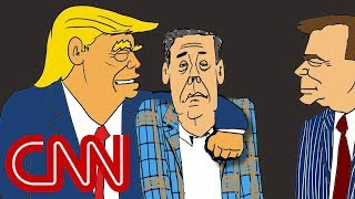 Trump's story told through classic films - Drawn by Jake Tapper