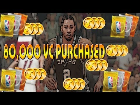 Nba 2k14 Next Gen Xbox One| MyTeam Buying 80k VC! PACK Starter Pack Opening Live Commentary