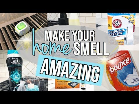 10 WAYS TO MAKE YOUR HOME SMELL AMAZING!