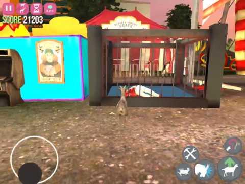 Goat Simulator GoatZ on Ipad
