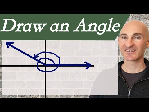 Draw an Angle in Standard Position (Radians & Degrees)