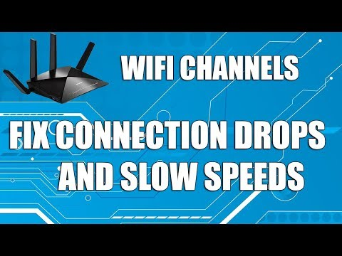 Fix Low WIFI Signal and Connection Drops | Analyze & Change Router Channel