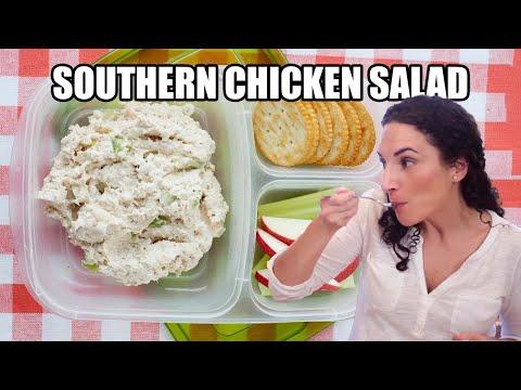 Healthy Lunch Idea: Southern Chicken Salad & Sandwich