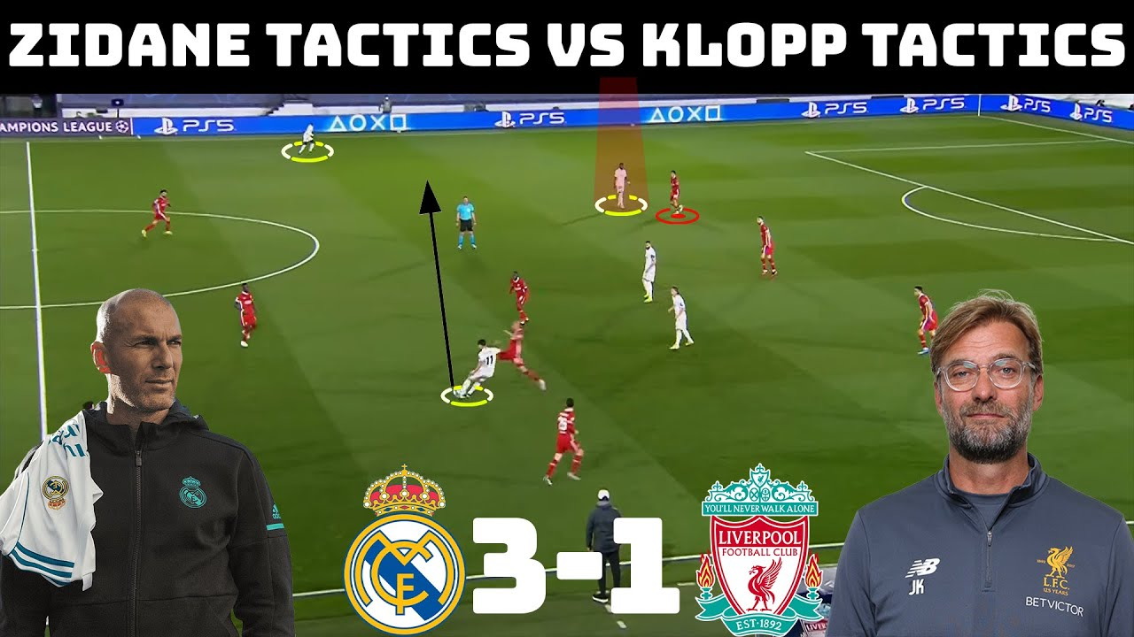 Tactical Analysis: Real Madrid 3 - 1 Liverpool | How Zidane Outdid Klopp |