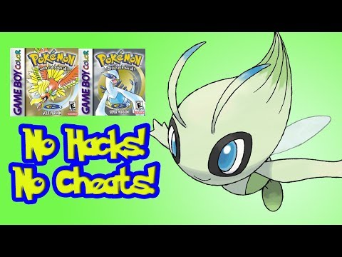 How to Get Celebi in Pokemon Gold and Silver