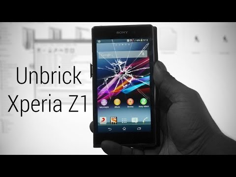 Sony Xperia Z1 - How to flash stock firmware (to Upgrade, Unbrick, Downgrade or Recover IMEI...)