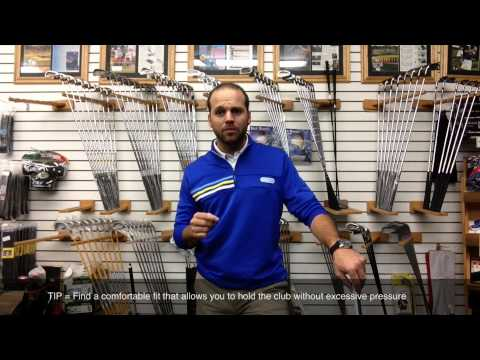 Golf Grips And Golf Grip Fitting - Find The Grip Type And Size For Your Game