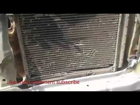 Maruti suzuki New wagonR A.c condenser Repair