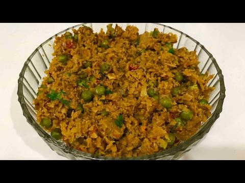 Soya Chunks Keema recipe  Veg Keema   Cook with SB