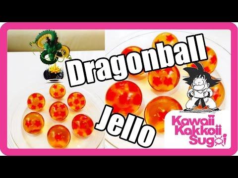 Dragon Ball Jello! (How-To) ドラゴンボールのグミ