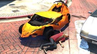 gta 5 car crash Videos - 9tube tv