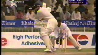 Navjot Singh Sidhu 101 vs Pakistan at Sharjha 1996