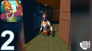 Pocket Legends Adventures Gameplay Part 2 - Tier 2 Balefort Castle (ios Android)