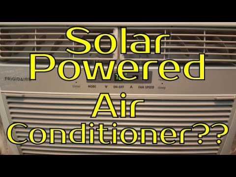 Solar Powered Air Conditioner?? - What Would It Take?