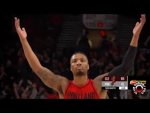 Portland Trail Blazers vs Cleveland Cavaliers - Full Game Highlights - March 15, 2018