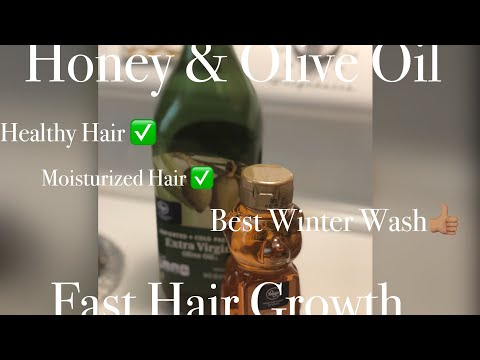 Diy Fast Hair Growth | Honey and Olive Oil for fast hair growth