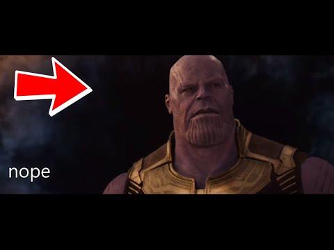 Thanos is Afraid of Earth - Avengers Infinity War Meme