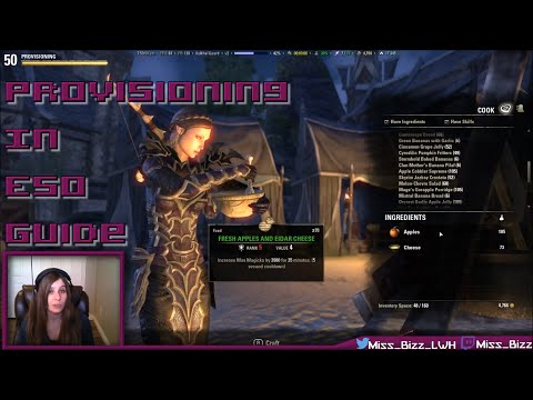 ESO Provisioning Guide - How to Cook in Elder Scrolls Online [Updated guide in description]