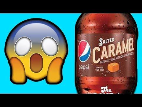 Pepsi DEBUTS New Salted Caramel Flavor