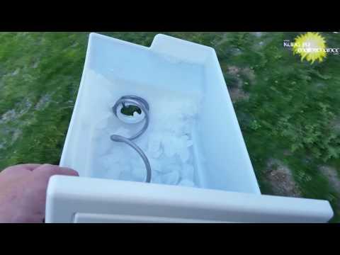 Ice Water From Refrigerator Freezer Door Funny Tasting Bad How To Restore Good Clean Taste