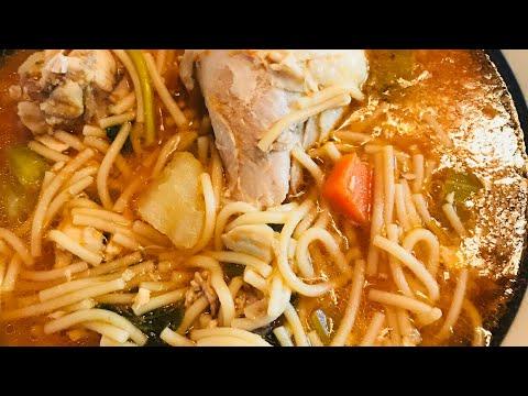 Sopa De Fideo Con Pollo 🐓🐓
