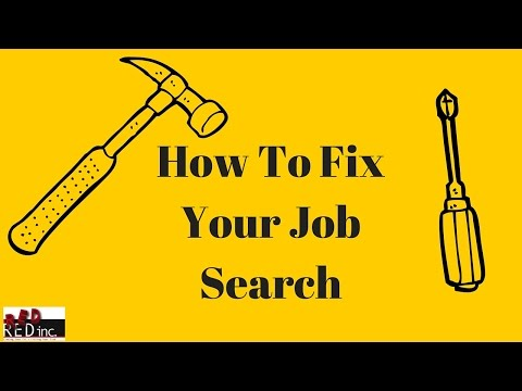 Job Search Tips: Fix Your Job Search By Getting REAL With Your Job Search