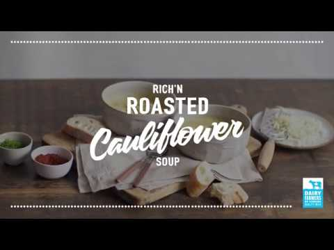 Oven-Roasted Cauliflower Soup   2018 Milk Calendar
