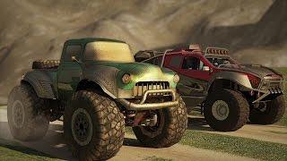 Monster Trucks Racing Mobile Game Trailer