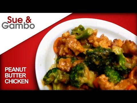 Peanut Butter Chicken Broccoli