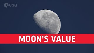 Space Bites: The Value of the Moon | Paul D. Spudis