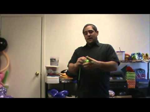 basic balloon butterfly tutorial