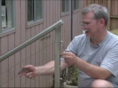 AGS Stainless Cable Railing Installation