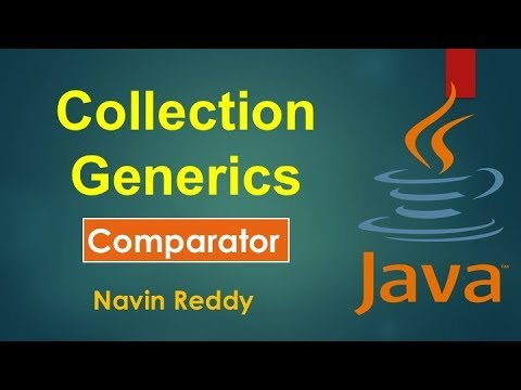 #11.5 Collection and Generics | Comparator Interface