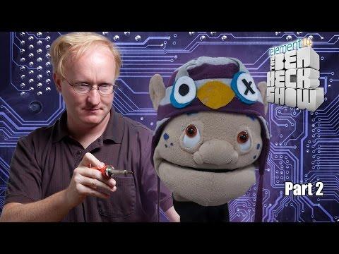 Ben Heck's Animatronic Puppet Head Part 2