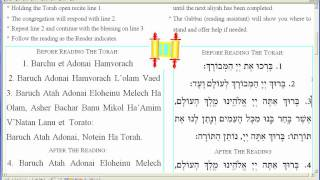Download How To.Receive an Aliyah, be called to Torah for the Reading of a Portion.mp4 Video