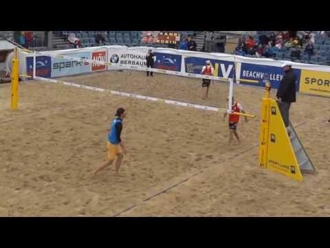 Beach Volleyball rules - Getting a red card