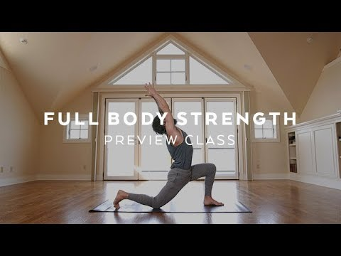 Intermediate Yoga Strength Class with Patrick Beach Yoga