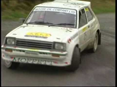 Maurice Moffett-Irish Rally Legend