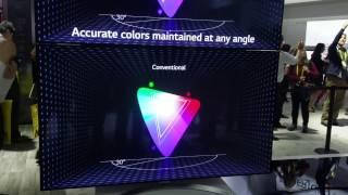 LG NanoCell LCD TV 2017