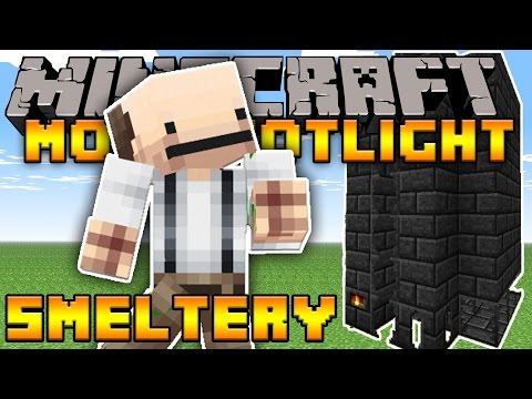 Minecraft | TINKERS CONSTRUCT | SMELTERY | 1.10.2