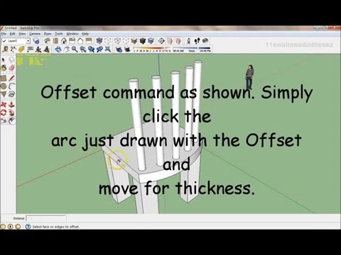 How to Sketchup the Third Chair