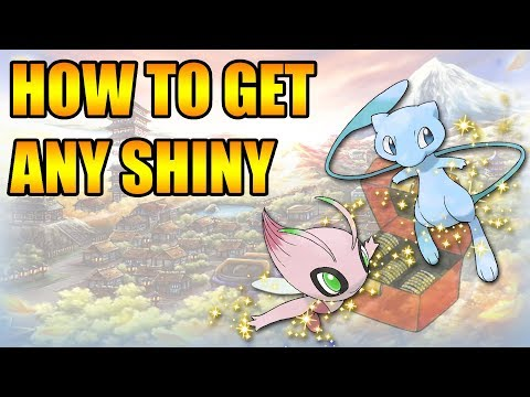 HOW TO GET ANY SHINY IN POKEMON GOLD AND SILVER 3DS