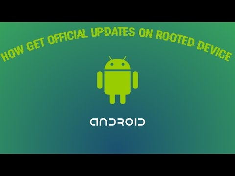 How to get official update on rooted device