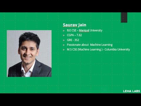 From B.E @ Manipal University to M.S (Machine Learning) @ Columbia University