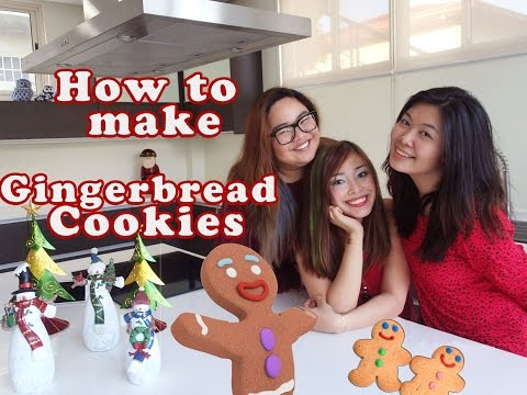 Easy Recipe for Gingerbread Cookies ||  #MerryKrisMeds