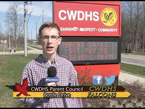 CWDHS School Parent Council Bottle Drive