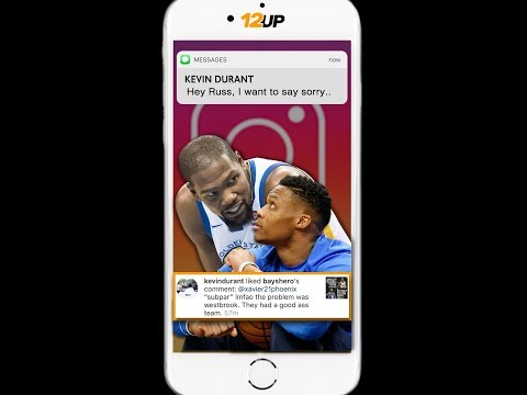 Kevin Durant Apologizes to Russell Westbrook Via Text