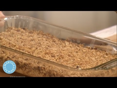 How to Make Oatmeal Raisin Squares - Martha Stewart
