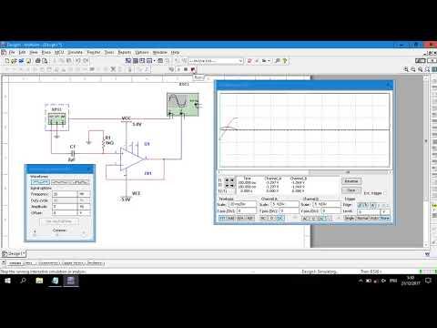 Op-Amp | High Pass Filter 1st Order Circuit Simulation in Multisim